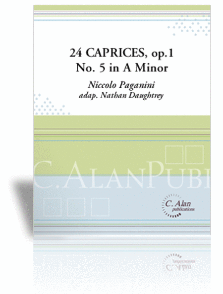 24 Caprices, No. 5 in A Minor