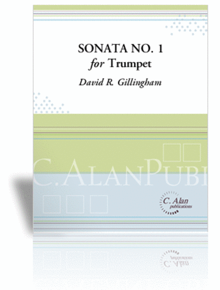 Sonata No. 1 for Trumpet (score & 1 part)