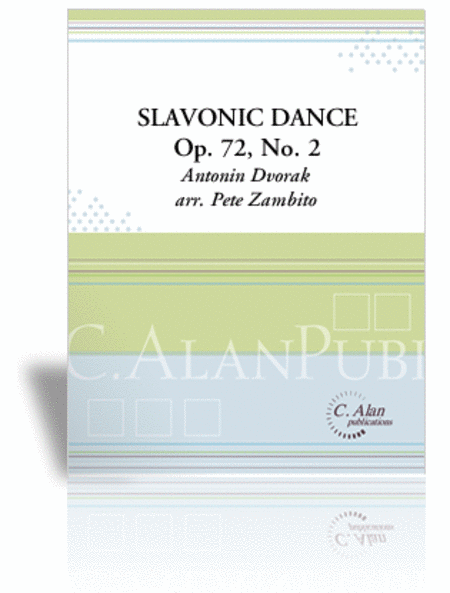 Slavonic Dance, Op. 72, No. 2 (score & parts)