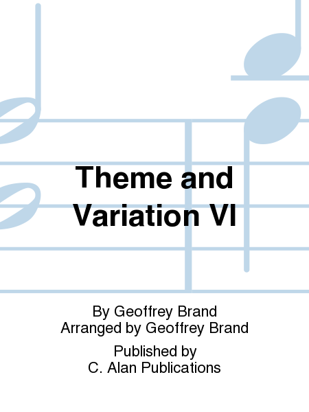 Theme and Variation VI