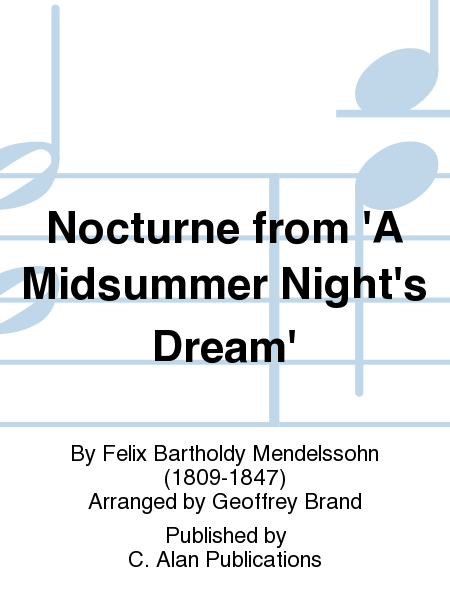 Nocturne from 'A Midsummer Night's Dream'