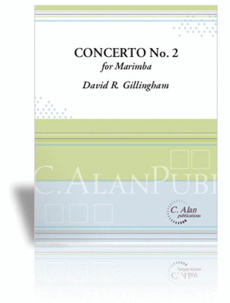 Concerto No. 2 for Marimba (piano reduction)
