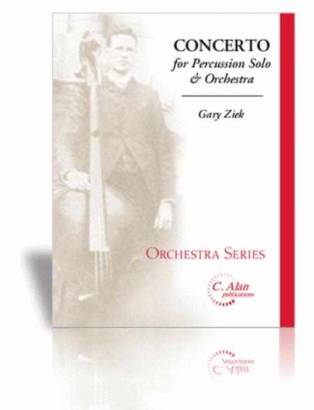 Concerto for Percussion Solo & Orchestra