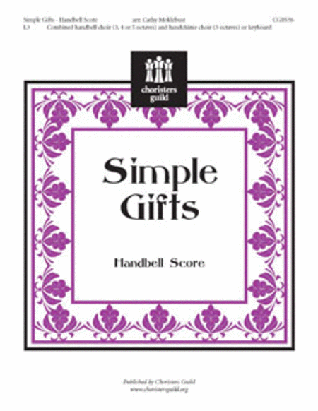 Simple Gifts - Handbell Part