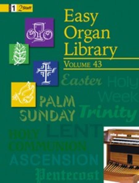 Easy Organ Library, Vol. 43