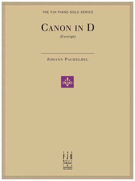 Canon in D (Excerpt)