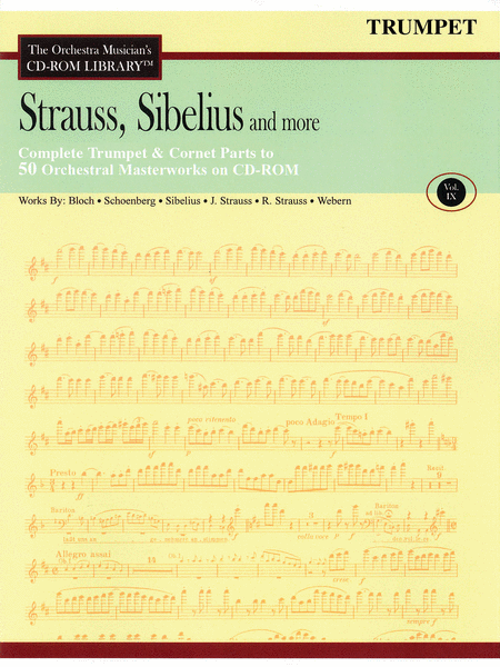 Strauss, Sibelius and More - Volume IX (Trumpet)