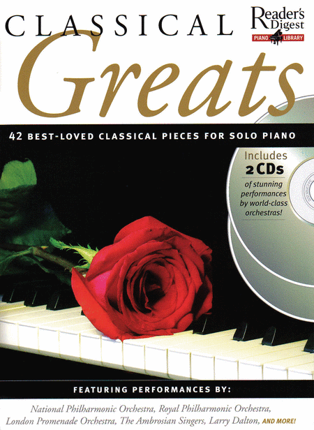 Reader's Digest Piano Library: Classical Greats