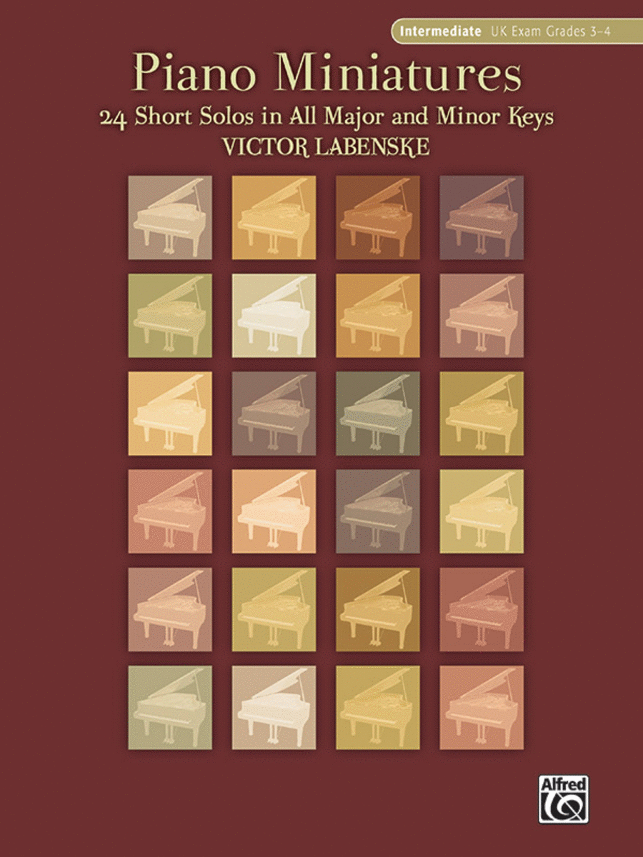 Piano Miniatures in 24 Keys