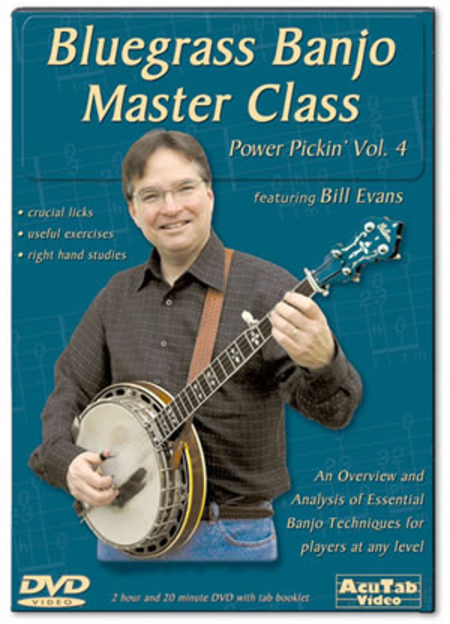 Power Pickin' Vol. 4: Bluegrass Banjo Master Class
