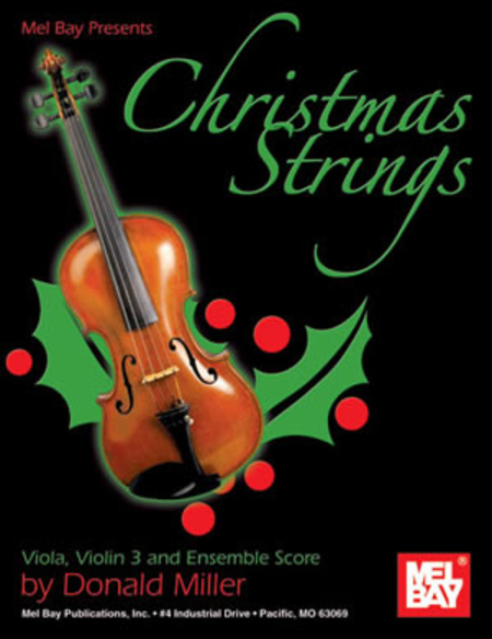 Christmas Strings: Viola, Violin 3 & Ensemble Score
