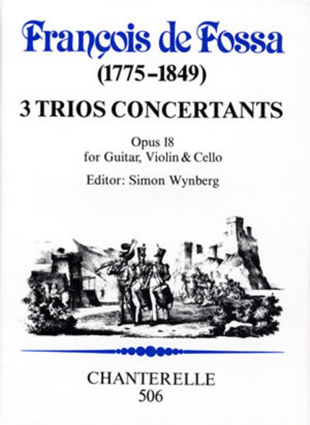 3 Trios Concertants, op. 18