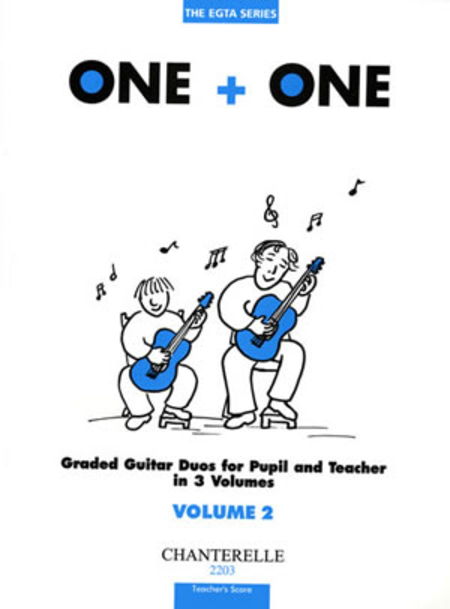 One + One Vol. 2 Teacher's Score Duos for Pupil & Teacher