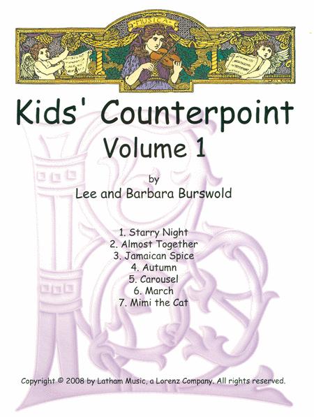Kids' Counterpoint Vol. 1