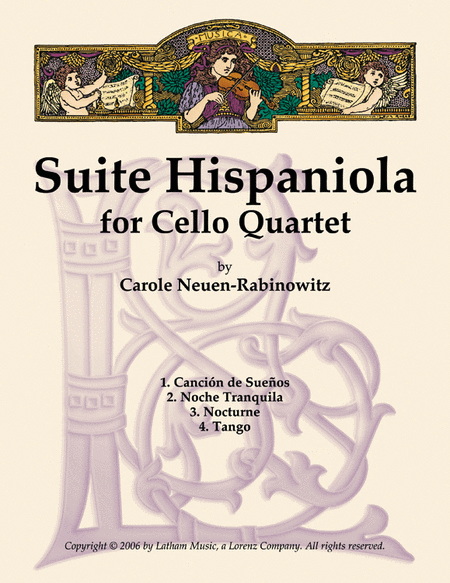 Suite Hispaniola for Cello Quartet