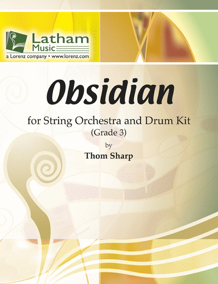 Obsidian for String Orchestra and Drum Kit