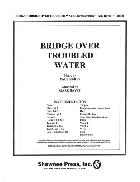 bridge over troubled water sheet music pdf