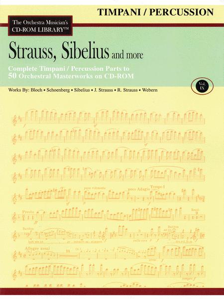 Strauss, Sibelius and More - Volume IX (Timpani/Percussion)