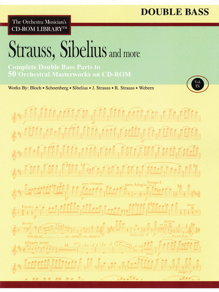 Strauss, Sibelius and More - Volume IX (Double Bass)