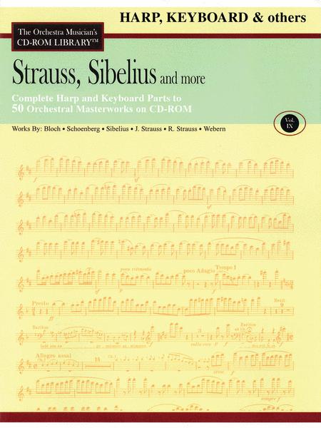 Strauss, Sibelius and More - Volume IX (Harp/Keyboard)