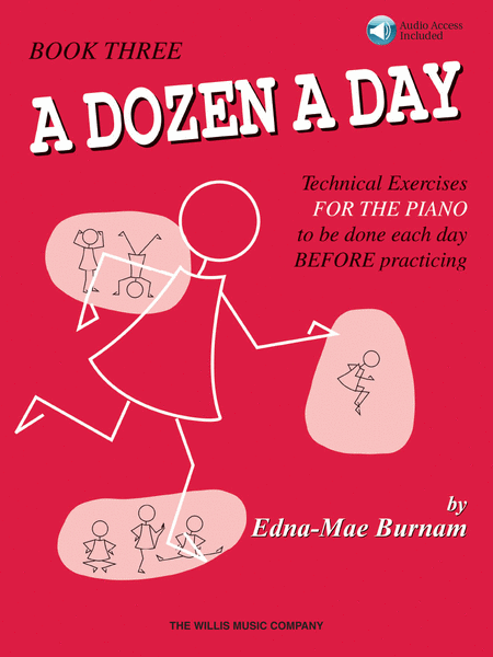 A Dozen a Day Book 3 - Book/Audio