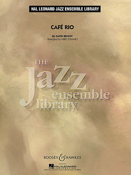 Cafe Rio (jazz Ensemble Grade 4) Full Score