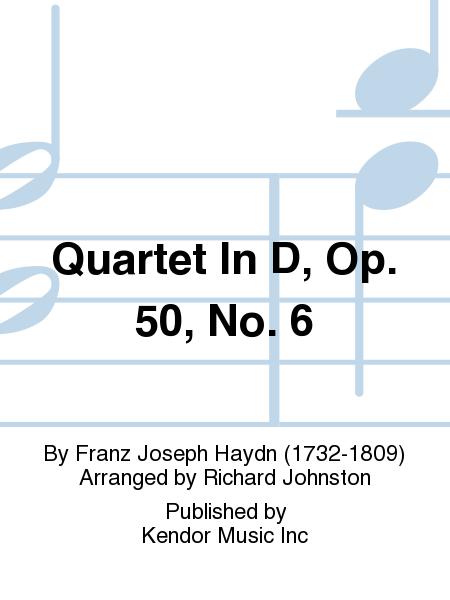 Quartet In D, Op. 50, No. 6