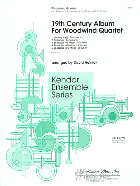 19th Century Album For Woodwind Quartet