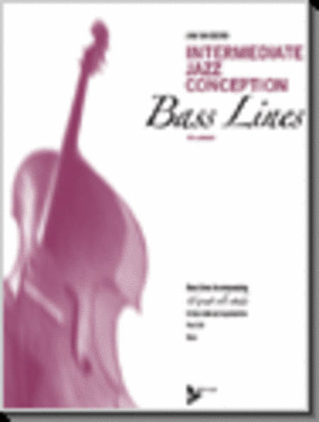 Intermediate Jazz Conception - Bass Lines (book &CD)