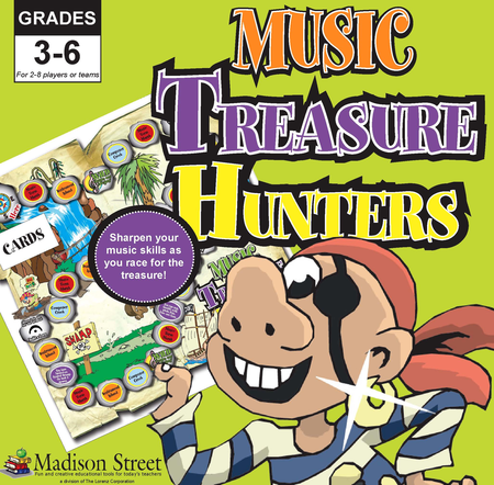 Music Treasure Hunters Board Game