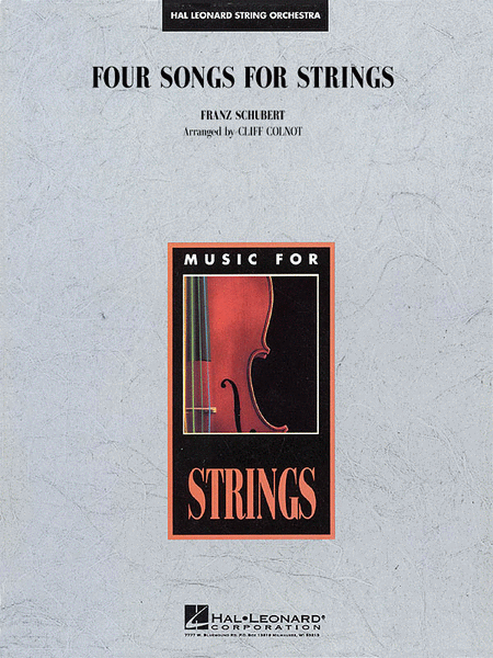 Four Songs for Strings