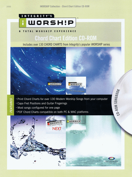 iWorship Chord Chart Edition CD-ROM