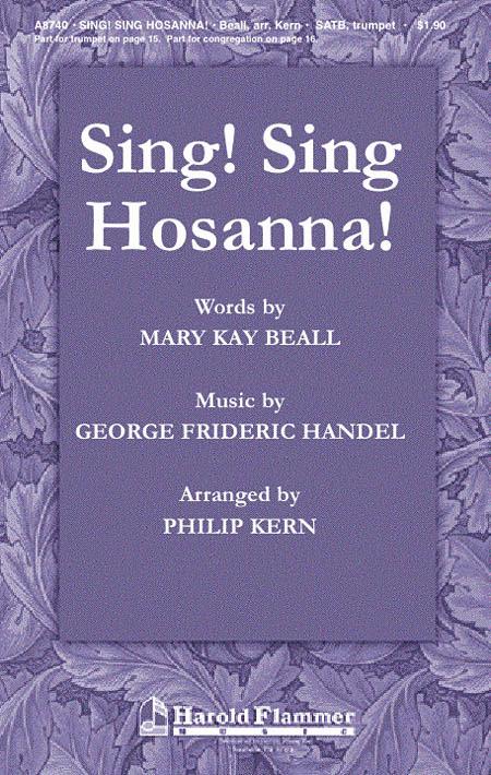 Sing! Sing Hosanna!