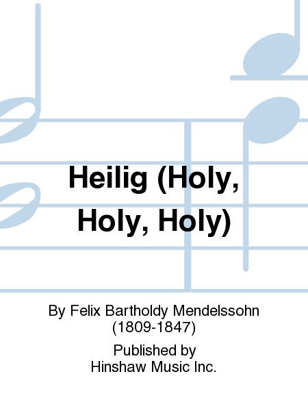 Heilig (Holy, Holy, Holy)