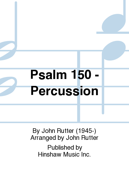 Psalm 150 - Percussion