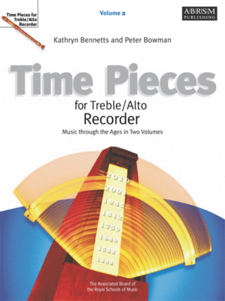 Time Pieces for Alto Recorder, Vol. 2 'Music through the Ages'