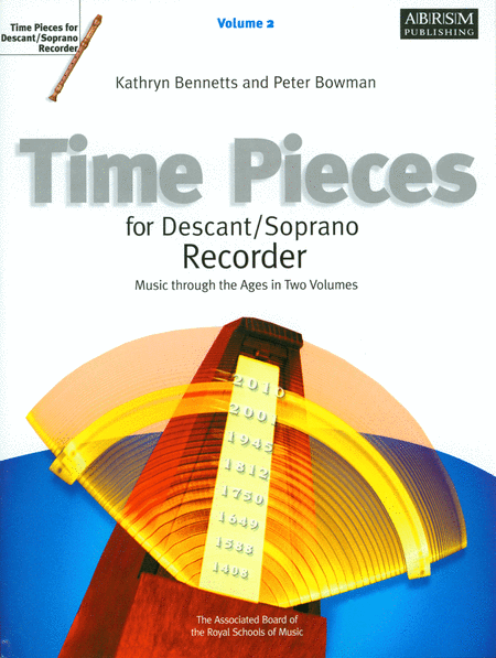Time Pieces for Descant/Soprano Recorder, Volume 2