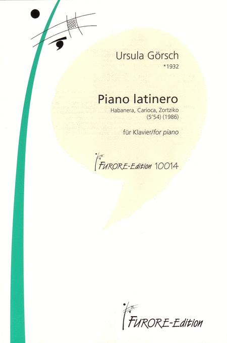 Piano Latinero: Habanera, Carioca, Zortziko