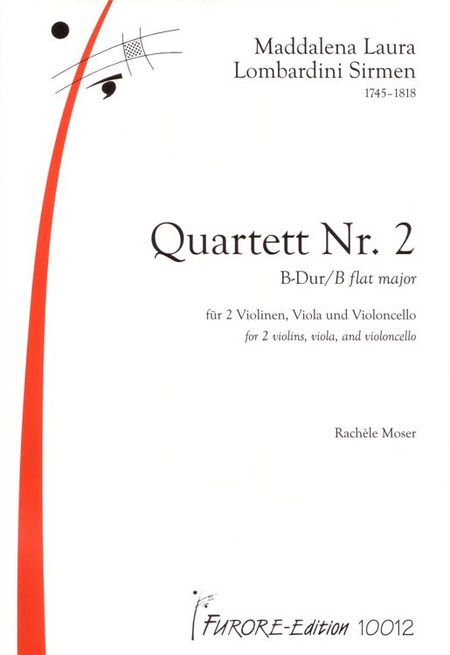 String Quartet No. 2 in B flat major