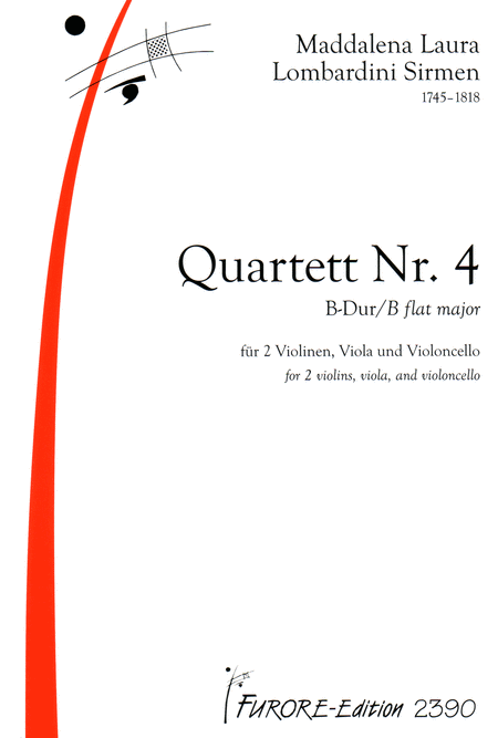 String Quartet No. 4 in B flat major