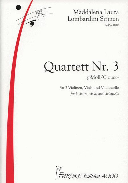 String Quartet No. 3 in G minor
