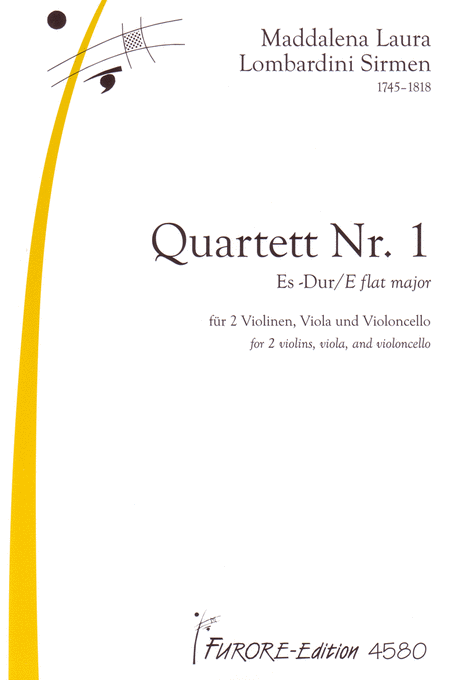 String quartet No. 1 E flat major