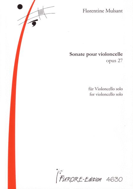 Sonate pour violoncelle op. 27