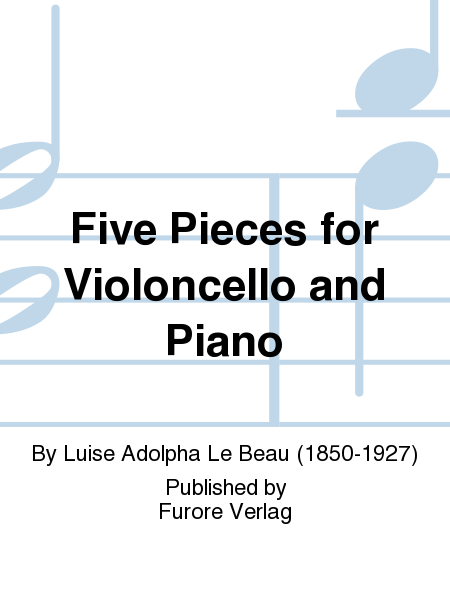 Five Pieces for Violoncello and Piano