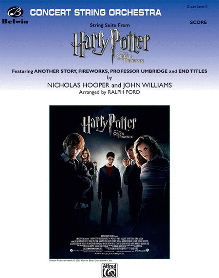 String Suite from Harry Potter and the Order of the Phoenix