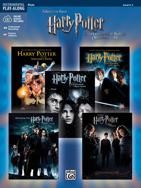 Harry Potter, Instrumental Solos (Movies 1-5) - Flute
