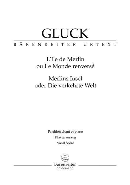 LIle de Merlin ou Le Monde renverse (Merlins Insel oder Die verkehrte Welt)