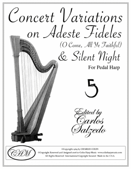 Concert Variations on Adeste/Silent Night