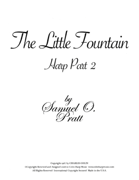 The Little Fountain