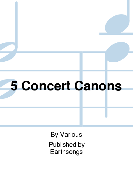 5 Concert Canons